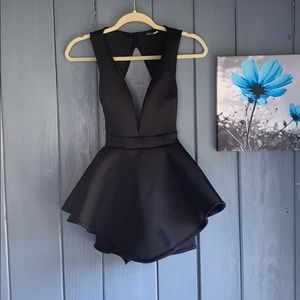Fashion Nova Peplum Romper